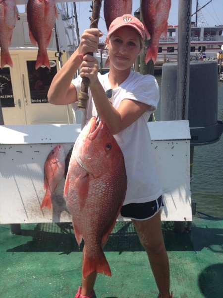 Snapper Fishing near Pensacola FL